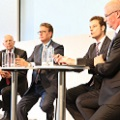 Podiumsdiskussion mit Walter Riester